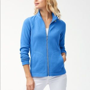Tommy Bahama Aruba Full Zip Pocket Sweatshirt U277